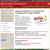 Graduate Research in Evolutionary Biology and Ecology (GREBE) | Office of Sustainability